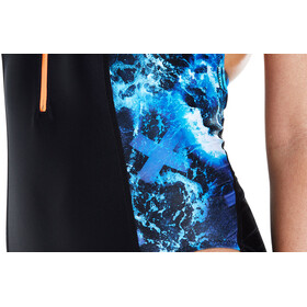 speedo Stormza 1 Piece Swimsuit Women Black/BLue